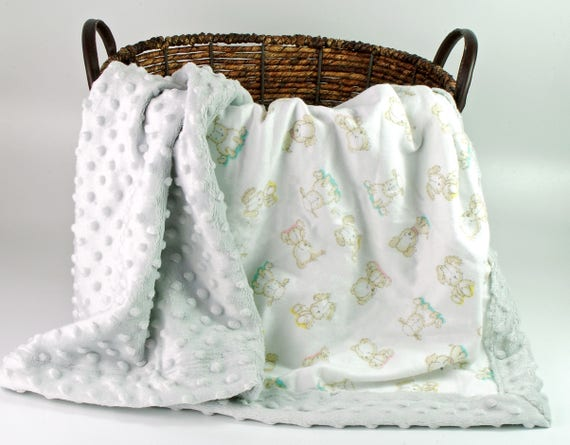 Baby Blankets - Gender Neutral Personalized baby blanket