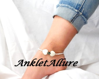 BEACH Anklet HEART Ankle Bracelet Choker Necklace Avail Shell Anklets For Women GUARANTEE