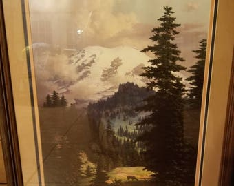 """Quiet Grandeur"""" by Dalhart Windberg, Framed, Signed,  Certificate Authenticity"""