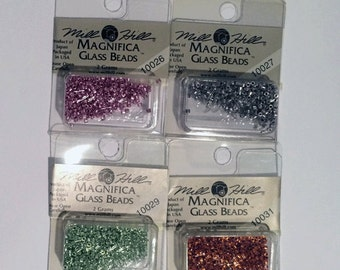 Clearance - Mill Hill Magnifica Beads Colors 10012-10100