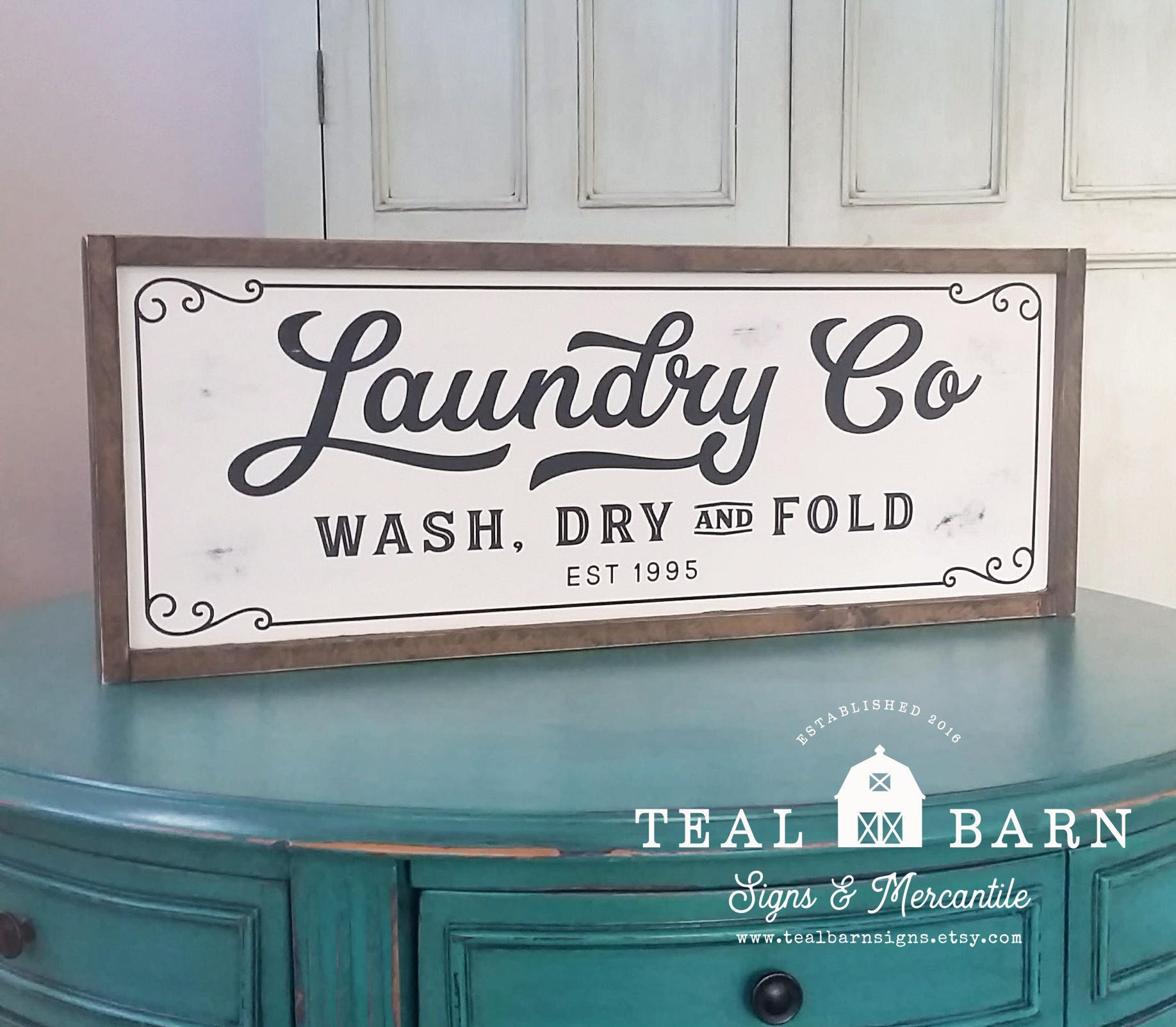 Laundry And Co Sign Laundry Co Wash Dry And Fold Sign Farmhouse Magnolia Fixer