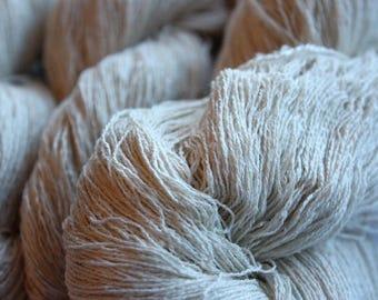 NEW***20/2 Merino/Silk - Natural undyed
