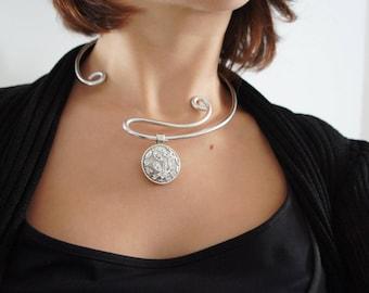 Necklace wire - still shiny.
