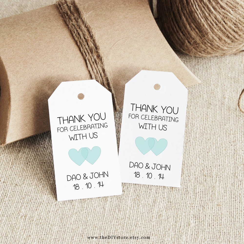 wedding tags template - Yeni.mescale.co