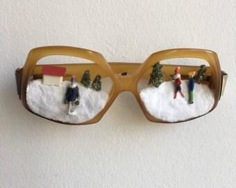 """Subjective eyeglasses """"snow"""""""