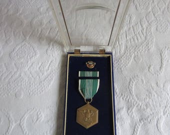 Military Merit Medal U.S. Commendation Medal Collectible