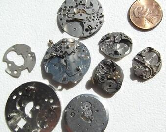 Steampunk Vintage Watch Parts Lot