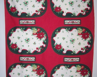 Christmas Placemats/Nakins Rings