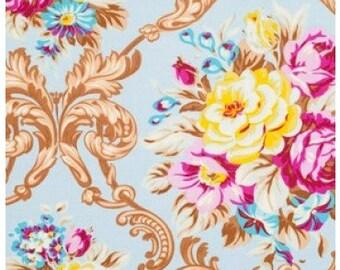 SALE Circa Maggie - Jennifer Paganelli - Free Spirit Fabrics - Blue - Half Yard