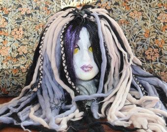 Spider Wig // Wooly Dreads // Merino Wool