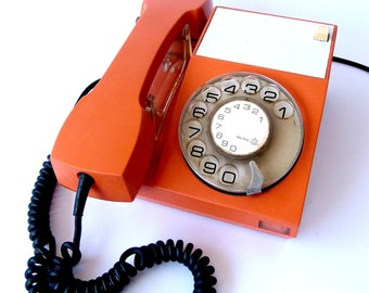 Iskra ATA Orange Phone (Made in Yugoslavia)