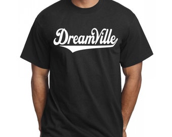T-SHIRT Dreamville WHITE Logo type 2 King Cole Men's Youth - J Cole  Rap Hip Hop Shirt J Cole Merch King Cole S-5XL