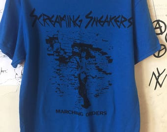 Screaming Sneakers Shirt Punk