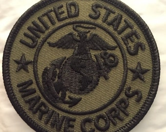 United States Marine Corp subdued Patch