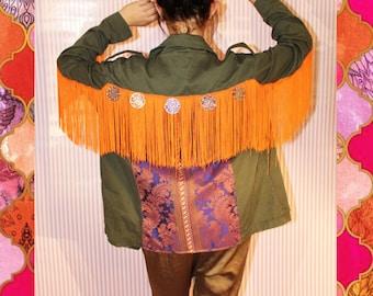 Boho festival jacket