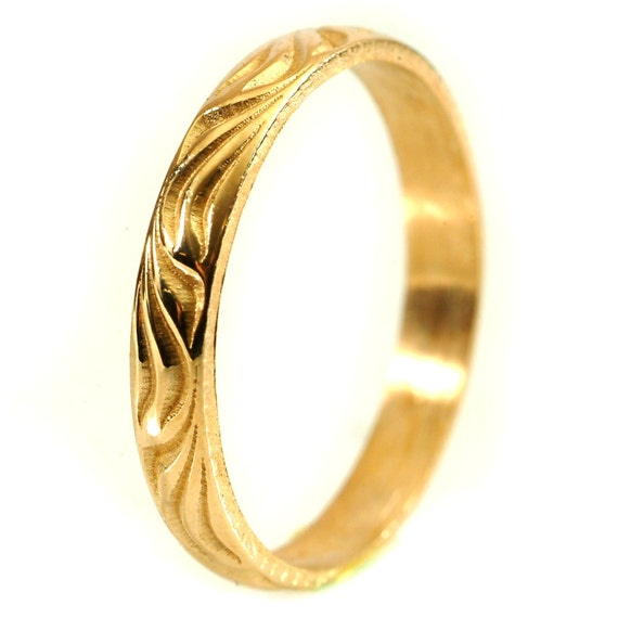 Dainty Gold Ring, Gold Stacking Rings, Gold or Palladium Ring, Thin Wedding Band, Gold Rings for Women, Handcrafted in Your Size Cr-5034