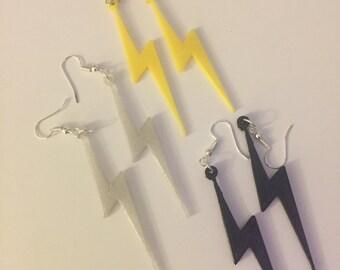 Lightning earrings