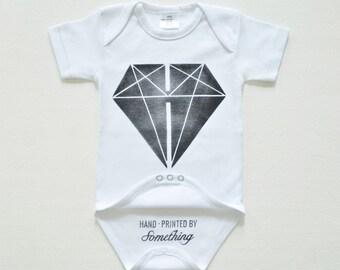 Lichaam van de baby van de diamant