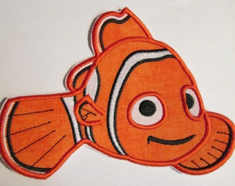 Iron On Applique -  Neeo The Fish