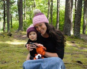 Mommy and Me Hats. Mommy and Me Beanie. Mommy and Me Tuques. Mommy Beanie. Baby Beanie. Toddler Beanie. Kids Beanie. Baby Shower GIft.