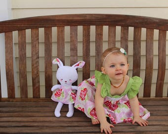 Gift for Kids - Gift for Girls - Gift for Toddler - Toy for babies - Bunny Stuffie - Soft Toy for Kids - Stuffed Animal - Easter Bunny Toy