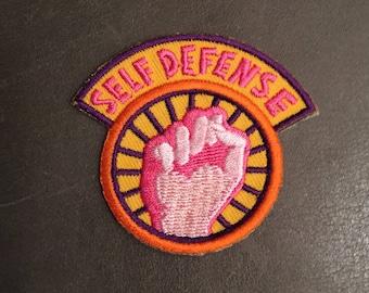 Self Defense Merit Badge Patch