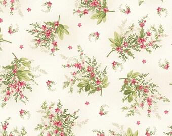 Spray of Pink Star Flowers, Ivory, Heather, Jennifer Bosworth, Maywood  (By YARD)~