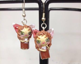 Color Pearl Fox dolls
