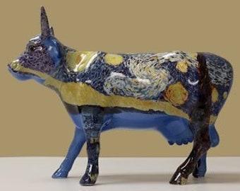 "Westland Cow Parade ""Starry Starry Cow"" Figurine"