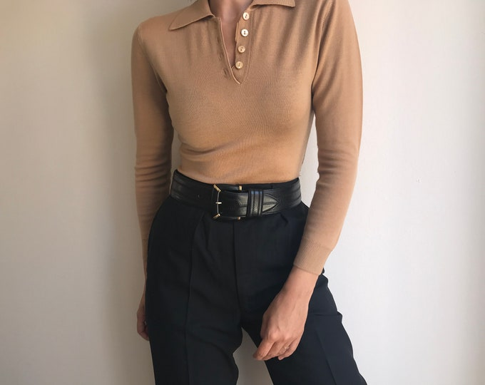 80s Cashmere Mix Sweater