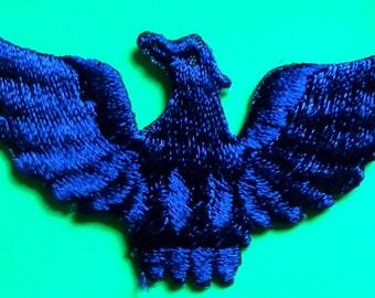 Iron On Patch Applique - Eagle royal  color