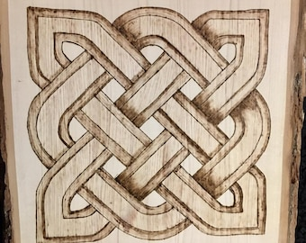 Celtic Design on Basswood