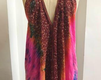 One-off Vintage boho dress