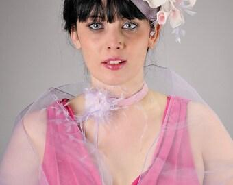 Wedding Hat Lilae LILAC pink
