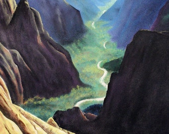 Beautiful Valley Painting