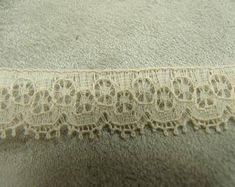 CALAIS lace - 1, 5 cm - nude
