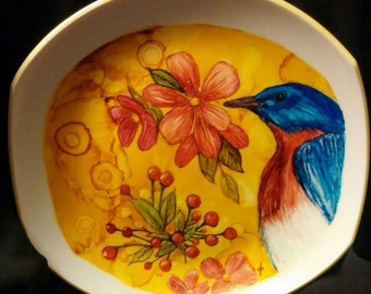 Alcohol Ink Art Plate