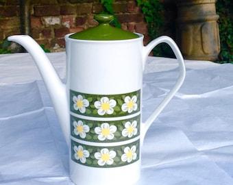 Vintage Tea or coffee pot by Johnson Bros