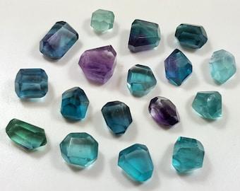 27 Gram Top Quality Fluorite Facet Beads-IM16