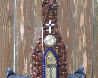 Fairy Stone Church, handmade for birthday or Mother's Day