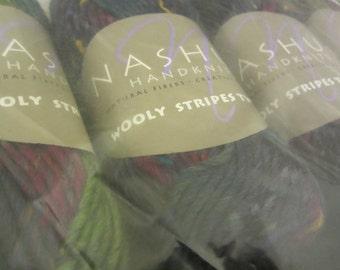 Nashua Handknits - Wooly Stripes Tweed - very pretty yarn