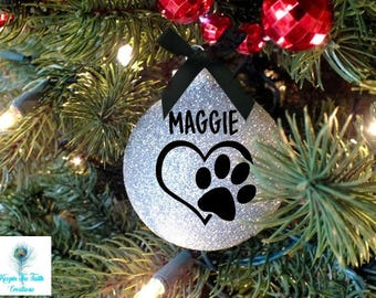 Pet Ornament - Christmas Ornament - Dog Ornament - Cat Ornament - Pet Gift - Personalized - Personalized Pet - Custom Pet Ornament-Pet Lover