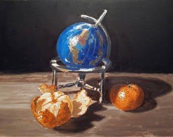 Original oil painting still life IX