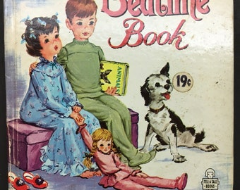 The Bedtime Book - A Whitman children's book - vintage from 1963