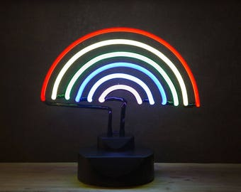 Coloured Neon Rainbow Light + Free UK Shipping