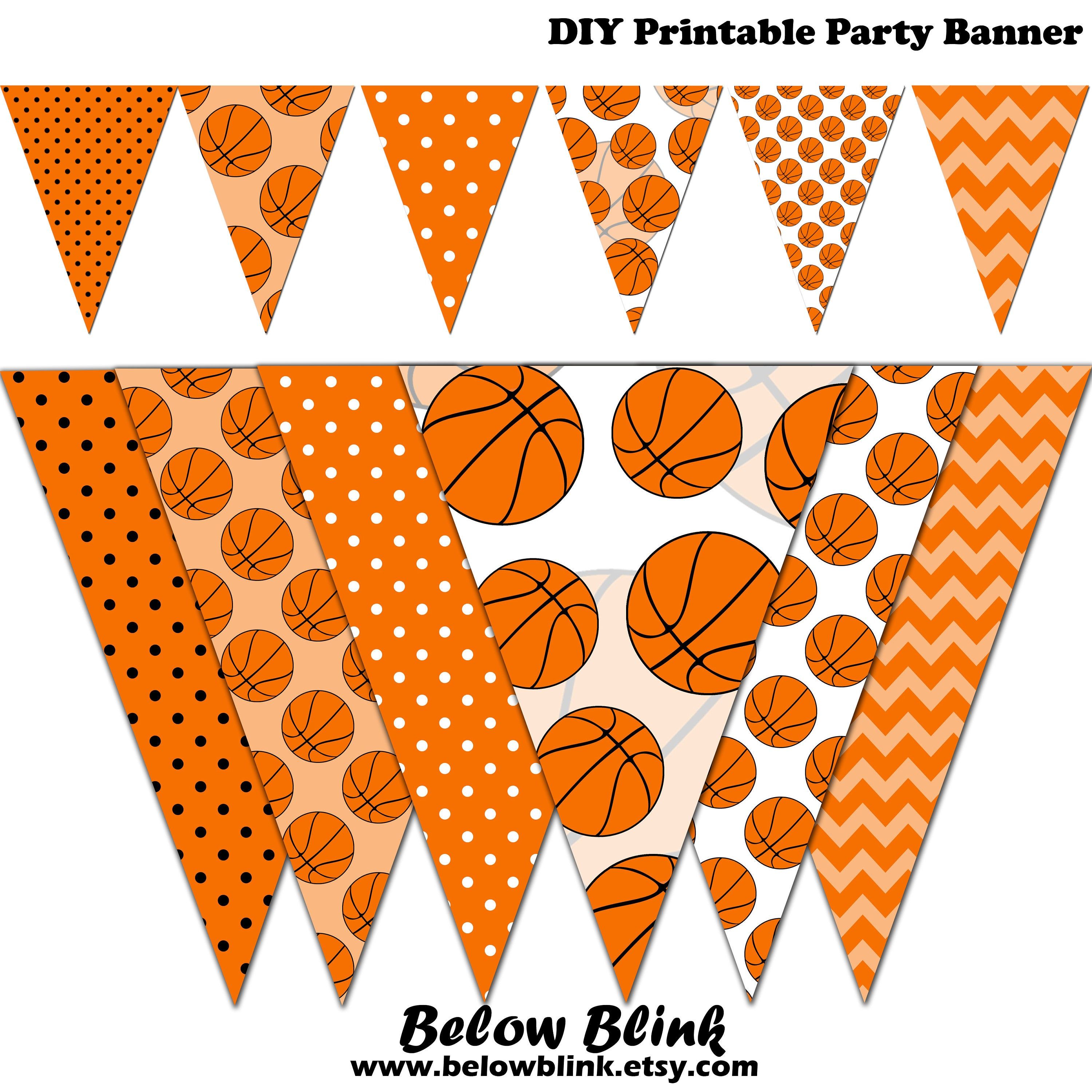 Orange Birthday Party Decorations
