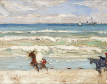 Poster, Many Sizes Available; James Wilson Morrice Beach Scene, Tangier