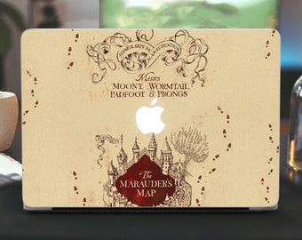 Harry Potter Decal Air 13 Macbook Stickers Pro 13 Harry Potter Map Skin 13 Decal Pro 15 Retina Stickers Potter Macbook Pro 15 Skin Gifts