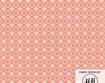 Dusty Rose Fabric / Geometric Fabric / Tribal Fabric / Boho Fabric / Cotton Fabric / Modern Blush Arrow Print by the Yard & Fat Quarter