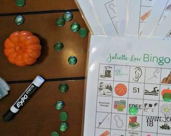 Juliette Low Bingo - Girl Scout Learning Game